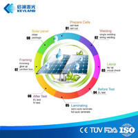 China Solar Panel Making Machine Turnkey Solution Install Training Raw material