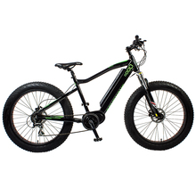 "26"" Mid drive Fat Tire Electric Mountain Bike"