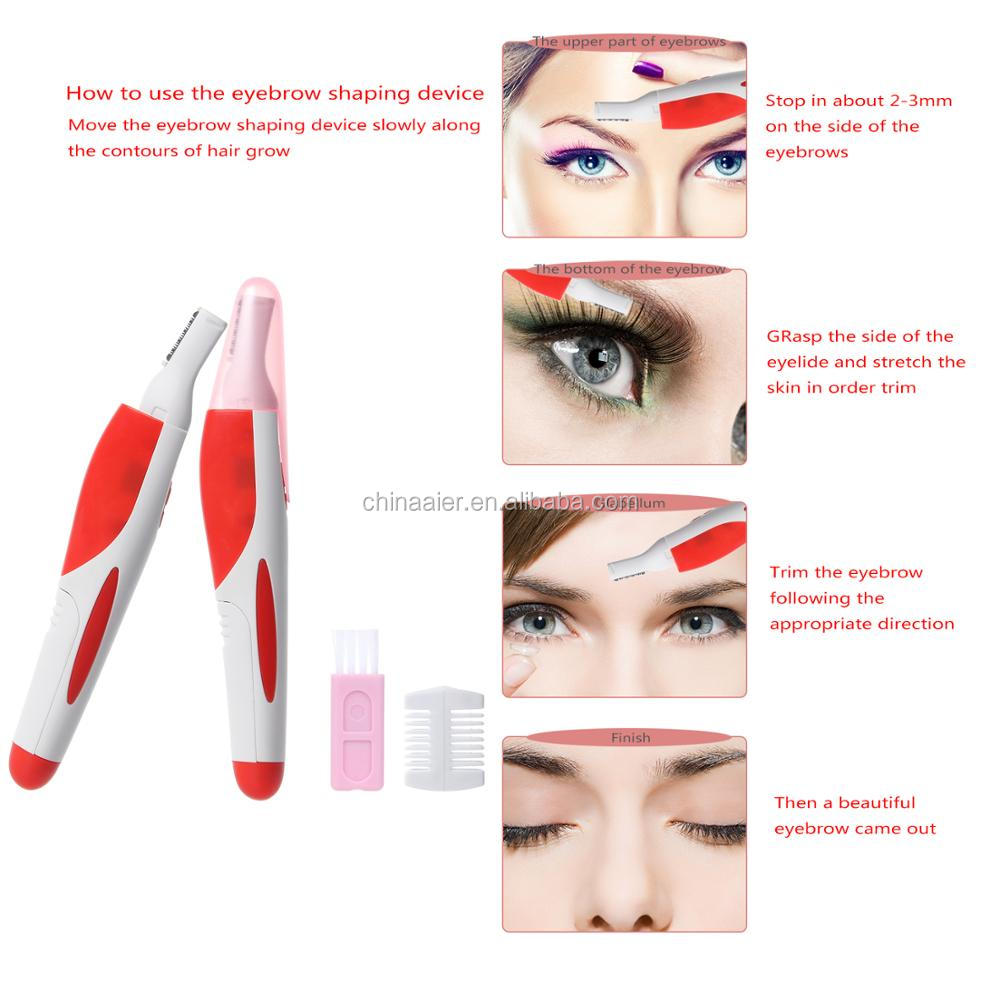 Hot Selling Hair Trim Eyebrows Tools Manufacture High Quality Lady Electric Shaver Electric Mini Travel Hair Trimmer