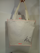 2017 High quality 12oz shopping cotton bag