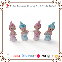 Baby shower decorative polyresin baby figurines