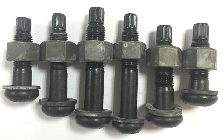 "Grade 10.9S 3/4""-10 * 2"" Steel Structural High Tensile Strength Control TS Bolts for building"
