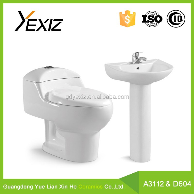 A3112&D604 Dual flush saving water wc toilet sanitary ware toilet bowl