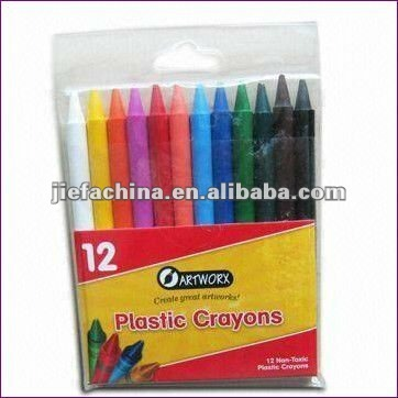 crayon in pen shape