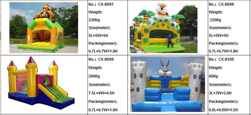 inflatable children games for outdoor kids park