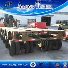 Hydraulic 150Tons modular semi trailer / 100 ton modules trailers for sale