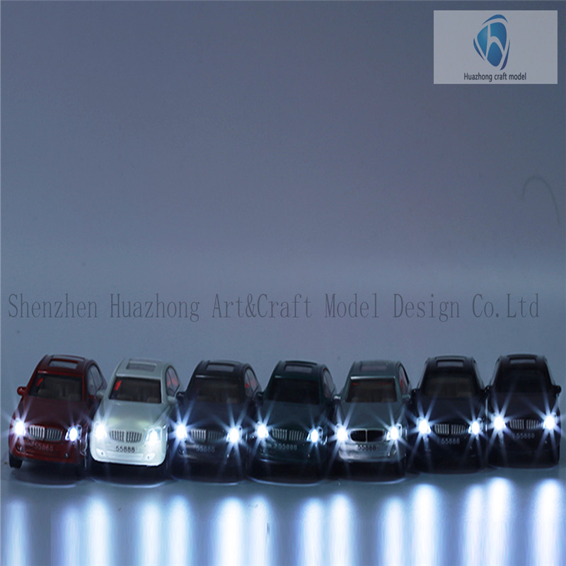 1: 50 Scaled Plastic Model light Car, Wholesale Diecast Car