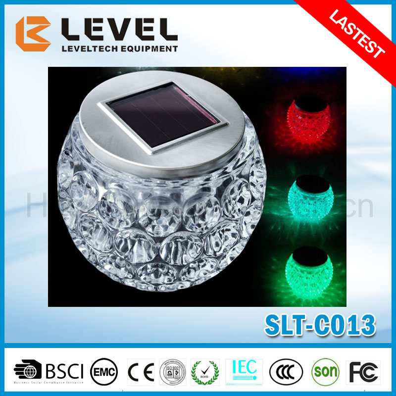 Factory Provide 1pc 12000MCD LED CE&ROHS Certificate Crystal Multi Color Led Decorative Light