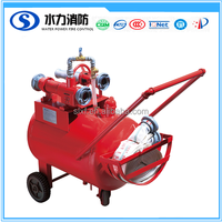 2017New FOAM TANK FOR FIREFIGHTING EW MANUFACTURED TROLLEY HALF-FIXED PORTABLE