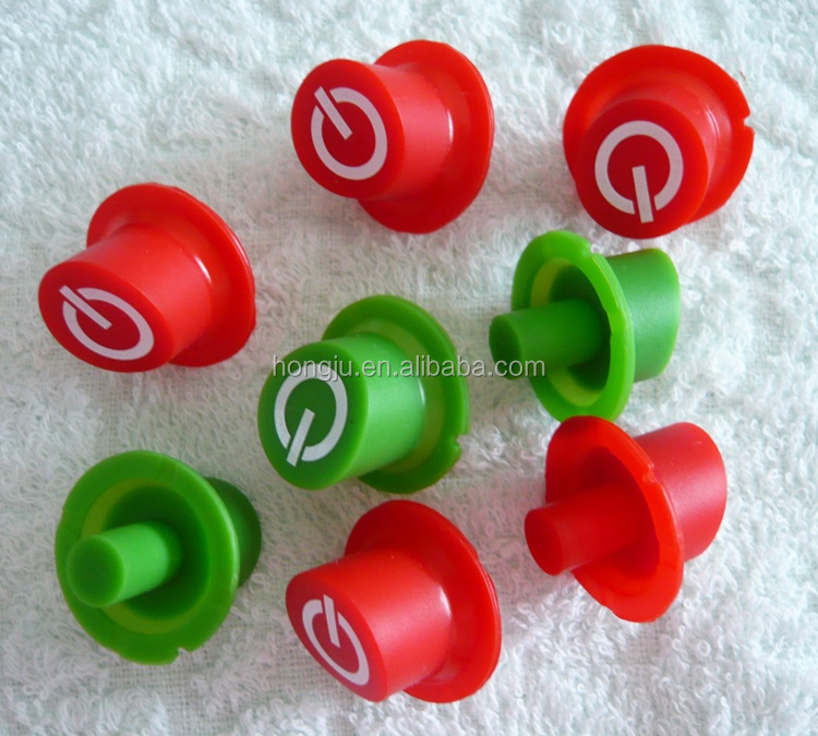 Cheap Wholesale custom rubber push button made in China