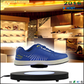 New attractive magnetic levitating and rotating shoes hanger