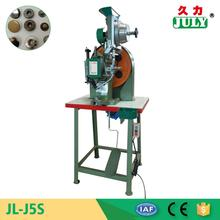 exclusive JULY manufactory good quality leather belt riveting machine