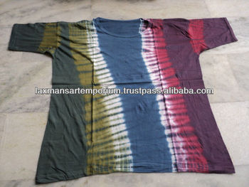 tie dye designs t-shirts wholesale from india