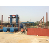 henan china Continuous Waste Rubber To Oil Machine tyre retreading plant for sale