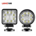Chep 12V 24W LED Work Light Round LED 4x4 Spot Light for Truck Tractor Offroad Car