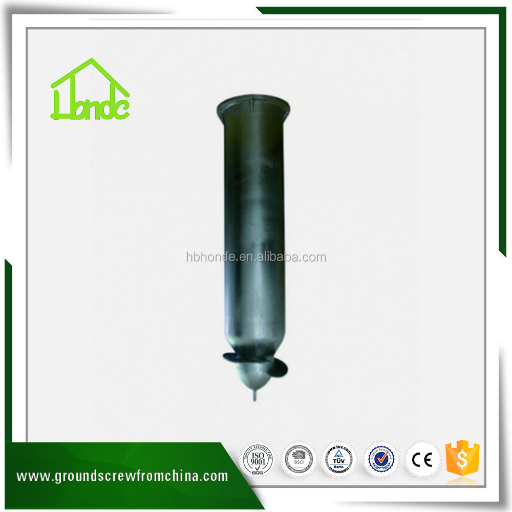 Q235 Factory Supply Metal Ground Screw Post Anchor