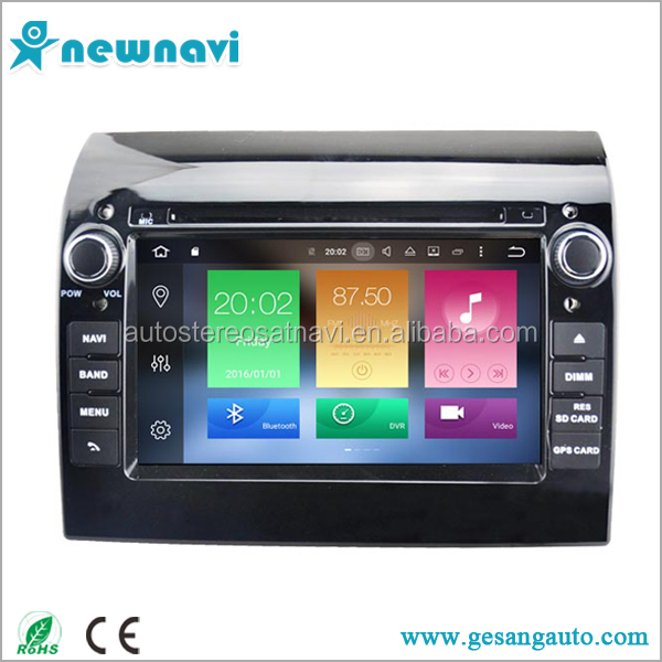Newnavi new model android gps navigation car dvd player with gps for Fiat ducato
