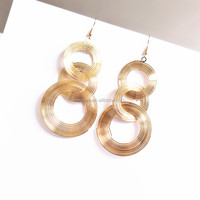 Fashion copper wire earrings wholesales NS-01335