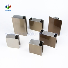 6063 T5 black anodized extrusion alloy aluminium profile price for window and door frame