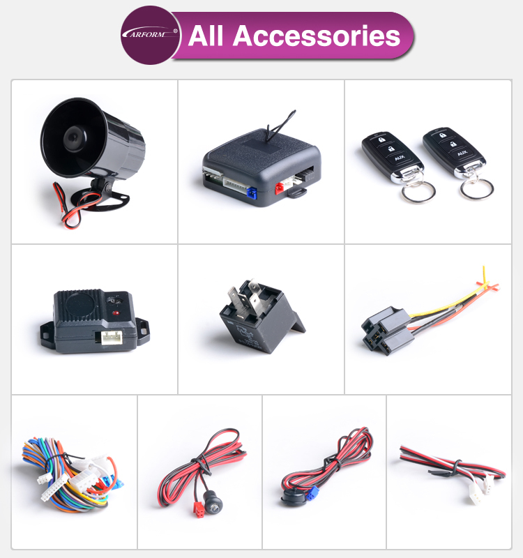 2015 new design universal remote car alarm with car searching remote centrol locking control