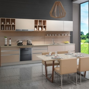 Philippines Modular Kitchen Melamine Kitchen Cabinets Wood ...