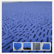 100% Nylon 66 Flock PVC Backing Tile Carpet