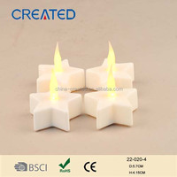 home reflections flameless white tealight candle for decoration from candle factory in china