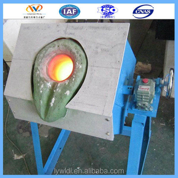 Industrial gold induction melting furnace copper scrap melting machine cast iron furnace