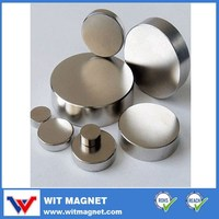 N38/Coating Ni/Sintered Ndfeb Disc Magnet With 35 mm,Height 20 mm