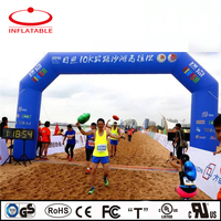 custom inflatable sports start finish line race arch for event