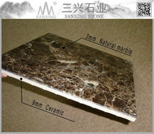 nature marble onyx composite floor tile