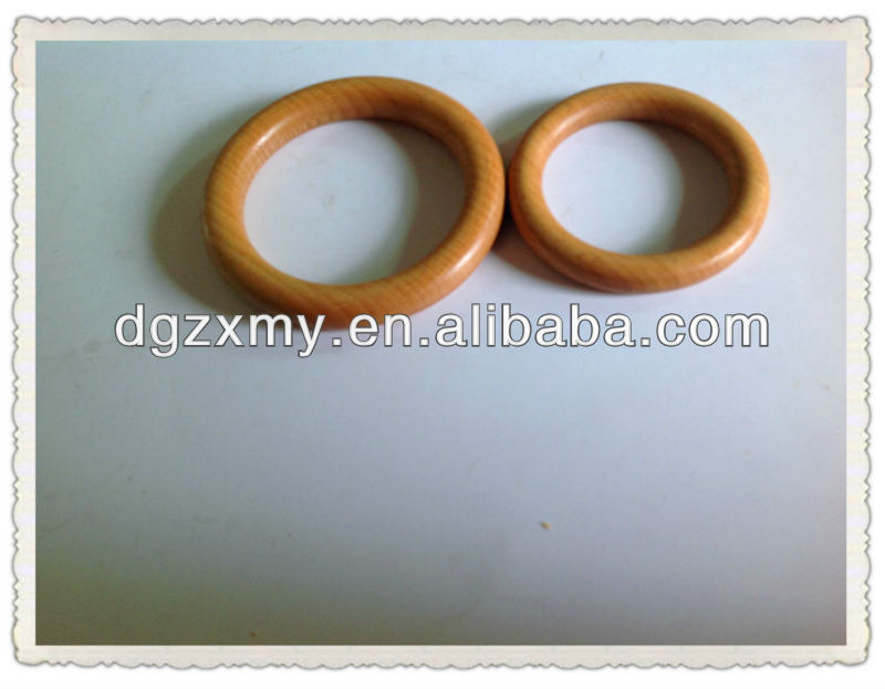 wooden craft hoops
