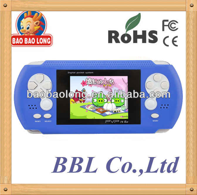 With popular games HD screen 16-bit Game Player