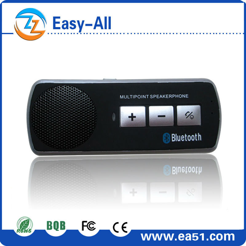HF-610 Hot selling wireless handfree bluetooth car kit dsp technology bluetooth car kit