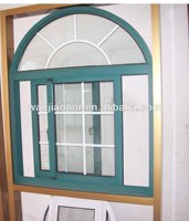 Hot sales Wanjia aluminum round top window