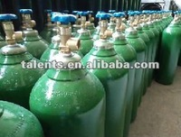 40l high pressure oxygen gas bottles with QF-2