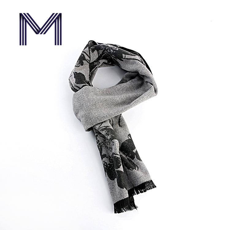 New design soft warm handsome man neckwear fashion scarf for winter