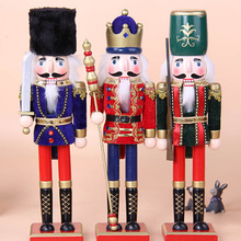 FQ brand Factory direct sale Christmas Wooden Decorative Nutcracker Soldier