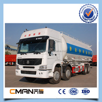 8x4 HOWO 12wheels 36m3 cement silos truck for sale in Shandong