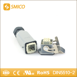 SMICO China Online Selling Male Female Auto 3 Pin Connector With Housing Hood