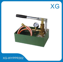 plastic pipe hydrostatic test pump/Manual water pressure test pump/hot and cold drinking water pipe pressure test pump