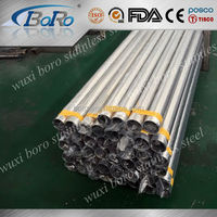 Ss 202 stainless steel welded/seamless pipe/tube