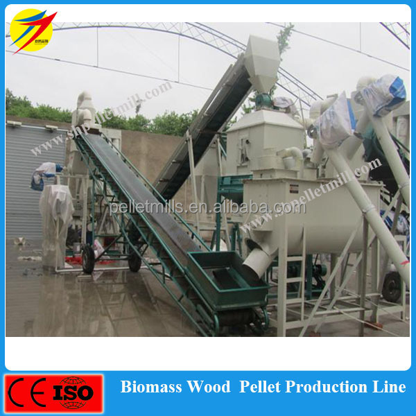 double crane biomass wood <strong>pellet</strong> production line with ce