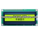 16 Characters x 2 Lines Character LCD Module by Shenzhen lcd manufacturer, 80x36mm 16x2 lcd display