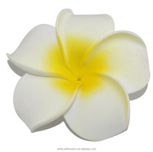 wholesale cheap artificial foam hawaiian ear flower for holiday