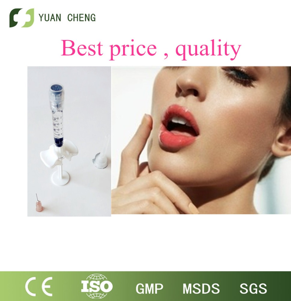 High quality hyaluronic acid ,personal care product/body filler/lip enhancer