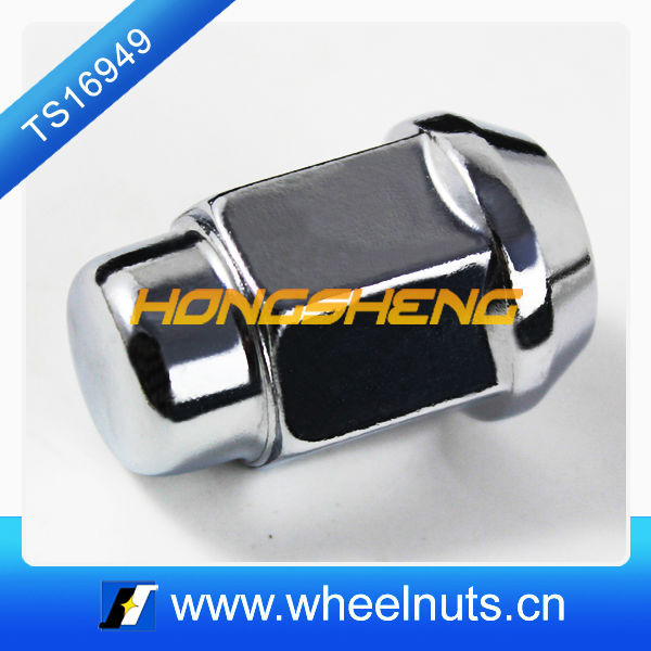 China carbon steel chrome plated automobile wheel nuts