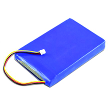portable dvd player 7.4v rechargeable lithium polymer battery