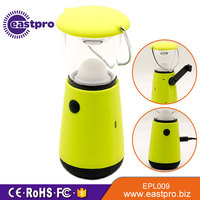 EASTPRO EPL009 SMD LED Ni-MH battery hand cranking dynamo rechargeable led camping lantern