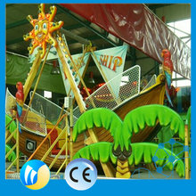 Outdoor theme park rides small pirate ship for sale
